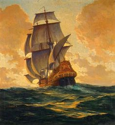 Resultado de imagen para velero en alta mar