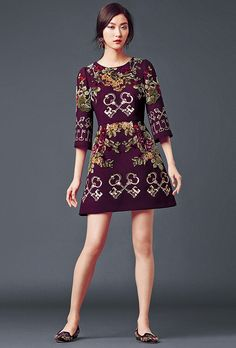 dolce and gabbana winter 2015 women collection 28