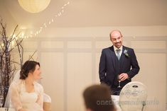 Groom Pulls A Face Whilst Making Grooms Wedding Speech In Christchurch Dorset Photography By