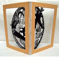 Paper sculpture, Cutwork, Layers - Book Arts and Illustration for the Danfoss Art Award - copyright Ann Dadd Arts Award, Cutwork, Portfolio Design, Book Art, Ann, Illustration Art, Layers, Graphic Design, Sculpture