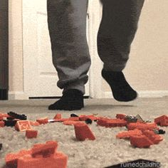 How Stepping On A LEGO Feels Like
