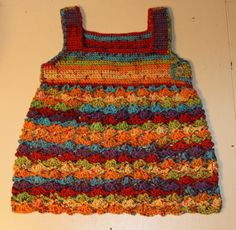 Crochet Girls Dress 18 months. Length is 14 and by whyknothavefun, $25.00