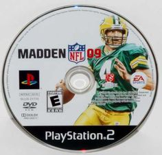 For sale 1 Playstation 2 Madden NFL 09 Game - FREE SHIPPING! In good condition with no cover or book. $7.95 USD