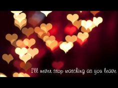Never Stop (wedding version) this is the song I want played at my reception!!!:)