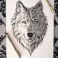 Voll schön gezeichnet