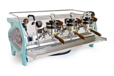 Single Origin's Custom La Marzocco Strada courtesy of Espressoparts | Flickr - Photo Sharing!