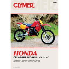Clymer Honda CR250R-500R Pro-Link (1981-1987) - https://www.boatpartsforless.com/shop/clymer-honda-cr250r-500r-pro-link-1981-1987/