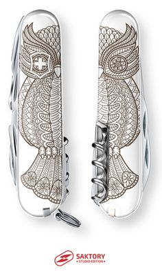 Owl Be Back Swiss Army Knife: Saktory Studio Edition