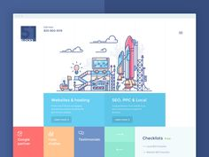 Here is my design of 51blocks homepage. The image show process of internet…