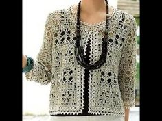 Elegant crochet jacket PATTERN, casual crochet jacket PATTERN, CHARTS and basic instructions in English, charts are not interpreted in words Black Crochet Dress, Crochet Cardigan, Knit Crochet, Crochet Jacket Pattern, Crochet Poncho Patterns, Beach Crochet, Crochet Symbols, Crochet Woman, Crochet Videos