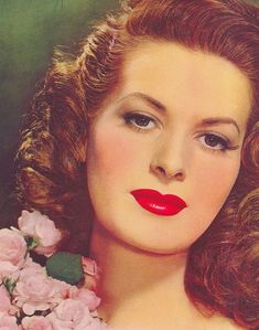 Maureen O'Hara on the cover of Motion Picture Magazine, 1946. omg....I LOVE her!!!!