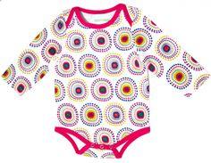Gelegeima Organic Cotton Babysuit Discodot Design
