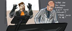 Half Life Half Life Game, Gordon Freeman, Valve Games, Kaito, Doughnuts, The Life, Portal, Videogames, Dibujo