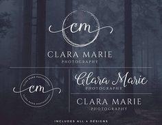 Logo Design Photography Logo and Watermark Logo Set