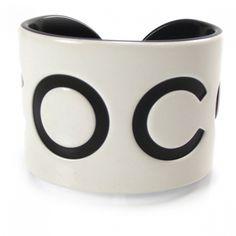 Coco!  Chanel.  Love this cuff.