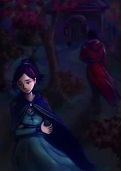 An illustration for the second chapter of the short story Birth of an Immortal.