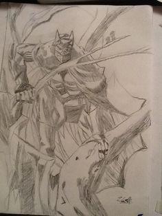 Jason Todd as Batman Pencil by PurpleMonkeyDishwism on DeviantArt