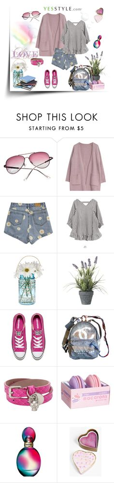 """""""Shorts"""" by murenochek ❤ liked on Polyvore featuring AORON, Goroke, Cultural Intrigue, OKA, Converse, Chanel, Alexander McQueen, Missoni, Boohoo and Spring"""