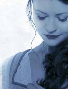 Close up of Belle from season three poster - by sansasnark on Tumblr