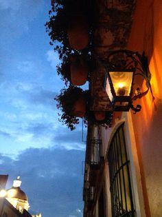 Colonial balcony, Puebla, Mexico La Quinta de San Antonio