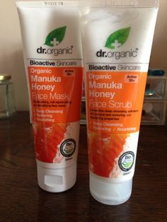 Brown Beauty: Dr Organic - Manuka Honey Skincare