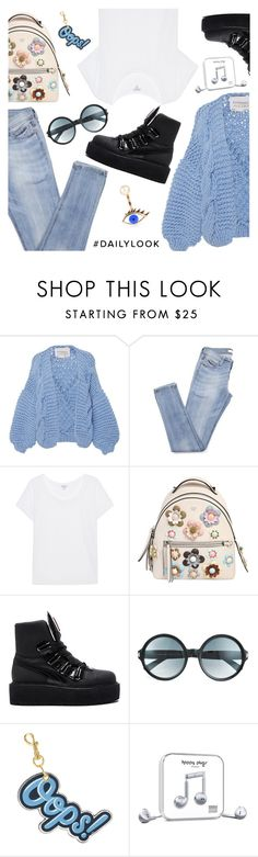 """Dailylook"" by dressedbyrose ❤ liked on Polyvore featuring I Love Mr. Mittens, Splendid, Fendi, Puma, Tom Ford, Anya Hindmarch, Happy Plugs, Delfina Delettrez, Dailylook and polyvoreeditorial"