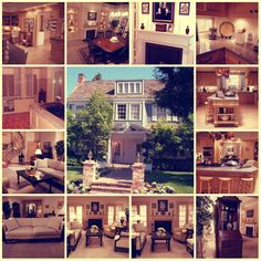 I always ADORED Bree Van de Kamp's house on Desperate Housewives!