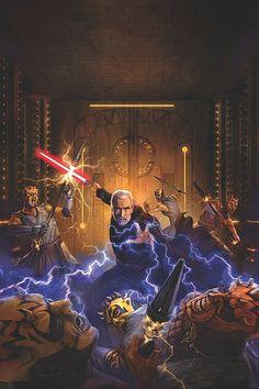 'Darth Maul: Son of Dathomir #2' cover art by Chris Scalf