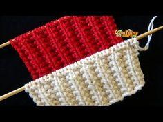 My Crochet Dream Knitting Videos, Crochet Videos, Knitting Stitches, Hand Knitting, Knitting Patterns, Vogue Knitting, Knitting Needles, Double Crochet, Easy Crochet