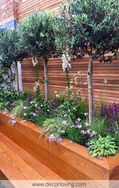 33 Inspiring Small Backyard Design Ideas - Garden Care tips, Garden ideas,Garden design, Organic Garden Small Courtyard Gardens, Small Backyard Gardens, Small Backyard Landscaping, Small Gardens, Backyard Patio, Outdoor Gardens, Backyard Ideas, Landscaping Ideas, Backyard Projects