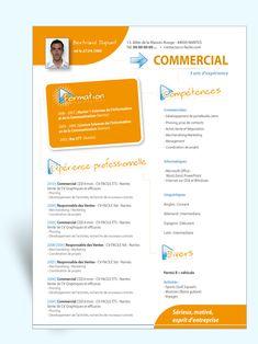 modele de mini cv gratuit MODÈLE DE MINI CV FORMAT CARTE DE VISITE   Waw !   Pinterest  modele de mini cv gratuit