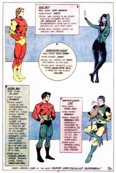 Dave Cockrum Legion costume designs