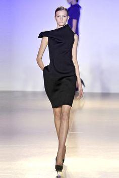 Jil Sander F/W 2009. Black dress