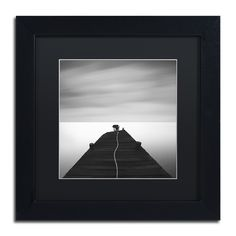 Free by Moises Levy Framed Photographic Print in Black