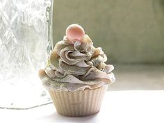 Creamy and Bubbles Cupcake Soap by OrganicBathBombs on Etsy, $6.00
