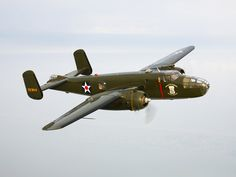 A North American B-25 Mitchell in Flight