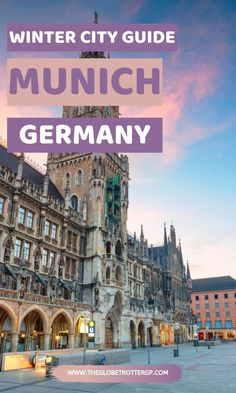 Munich in winter - Everything you need to know! From the best food in Munich to the best beer halls and German Christmas markets, this winter in Munich, Germany, Travel guide will help you plan your w Cities In Germany, Germany Travel, Europe Travel Tips, Travel Guide, European Travel, Travel Destinations, Holidays Germany, Germany In Winter, German Christmas Markets