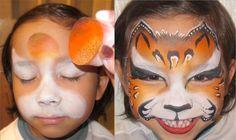 Leopard Face Paint Tutorial