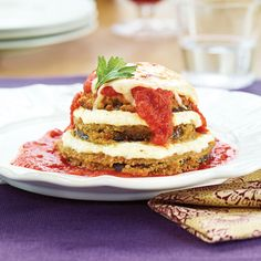 Eggplant Stacks Wegmans, Pesto Eggplant Parmesan Stacks Nurse Frugal, Parmesan Stacks Cook With Manali. Baked Eggplant Slices, Wegmans Recipe, Sauces, Free Fruit, Eggplant Parmesan, High Fiber Foods, Vegetarian Entrees, Sans Gluten