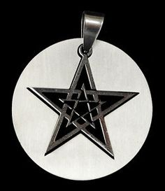 #pagan #wicca #witchcraft #celtic #druid #tarot Pentagram in Circle $8.50