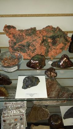 Beautiful Michigan Copper Specimens available at JP Gems and Jewelry in Holland, Michigan.