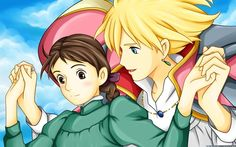 Howl's Moving Castle. One of my favorite Studio Ghibli movies!