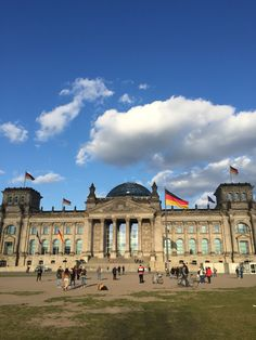 The German Bundestag (or parliament building) is as impressive a monument as you will find in Berlin. It's also the site of the former Reichstag, burned by the Nazi Socialists during their rise to power...  http://travel-ling.com