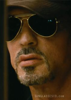 sylvester stallone | Sylvester Stallone wearing Ray-Ban Outdoorsman sunglasses in The ...