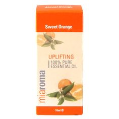 Shop our wide range of Miaroma Oils at Holland & Barrett, including Miaroma Sweet Orange Pure Essential Oil. An uplifting zesty aroma to boost mood. Essential Oils For Massage, 100 Pure Essential Oils, Pure Oils, Holland And Barrett, Sweet Orange Essential Oil, Geranium Oil, My Essentials, Orange Oil, Get One