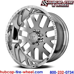 American Force Elite SS8 Polished Wheels & Rims