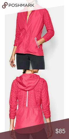 UA pink zip up jacket NWT. (ML) Under Armour Jackets & Coats