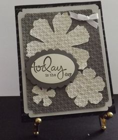 Floral Birthday Card in muted colors