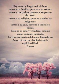 El amor consciente, por Amma