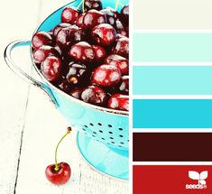 Some rooms could have red and brighter turquoise accents... like our wedding colors.